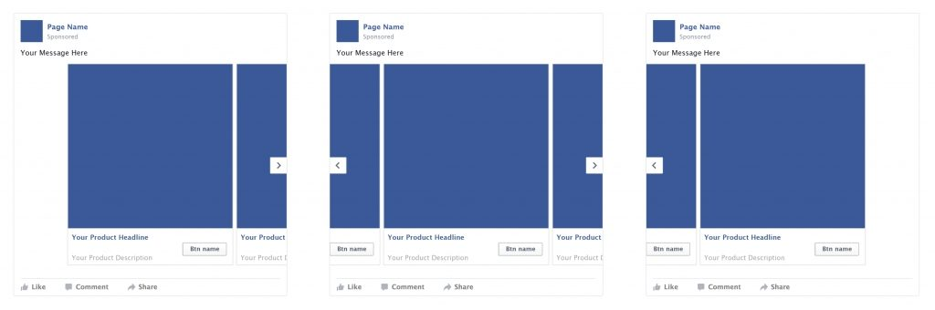 free ad mockup psd for facebook feed 52nd madison
