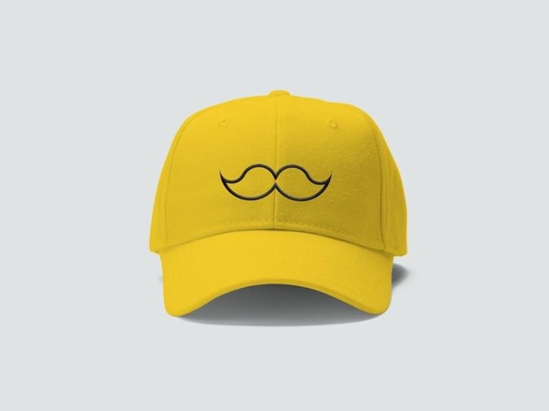 free cap mockup fluxes freebies