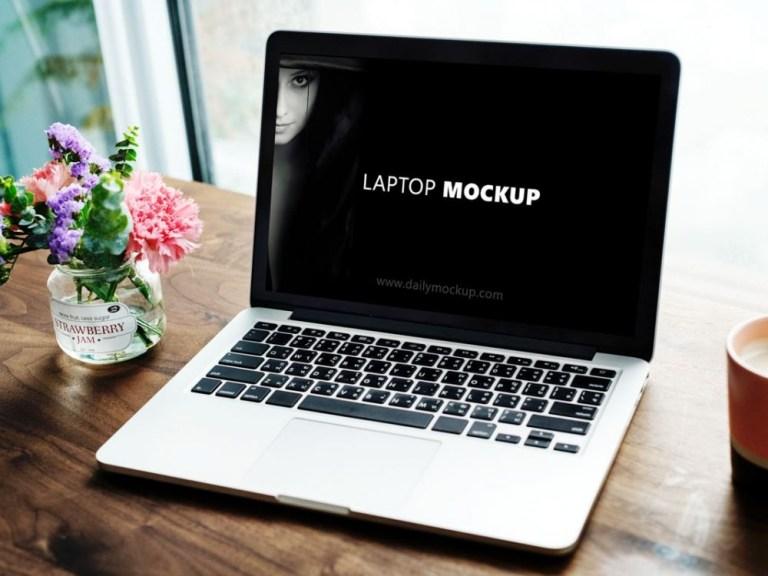 free laptop mockup psd download daily mockup
