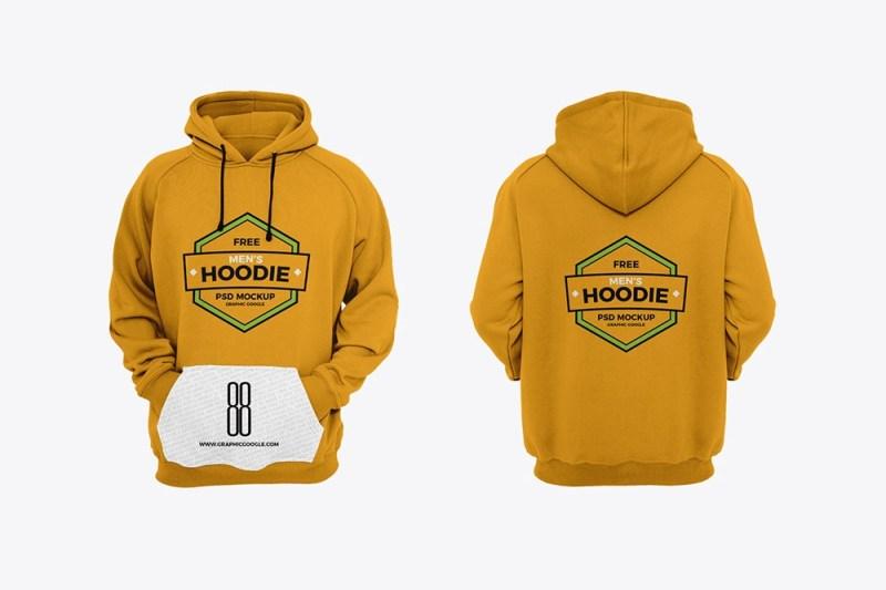 free mens hoodie mockup mockuptree