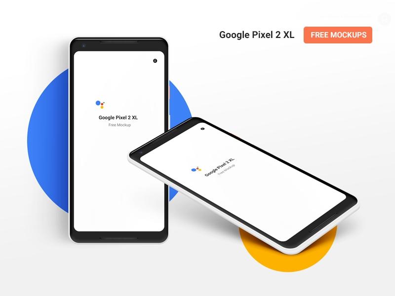 free psd mockup templates for google pixel 2 xl psdddco