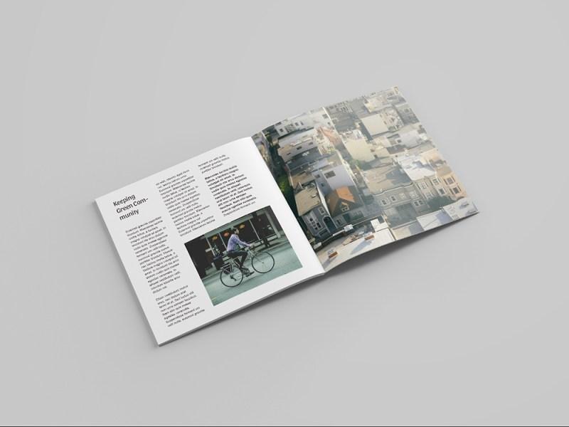 free square magazine mockup mockup world hq