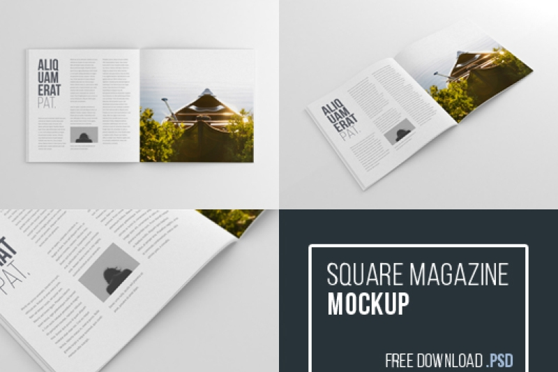 free square magazine mockup thehungryjpeg thehungryjpeg