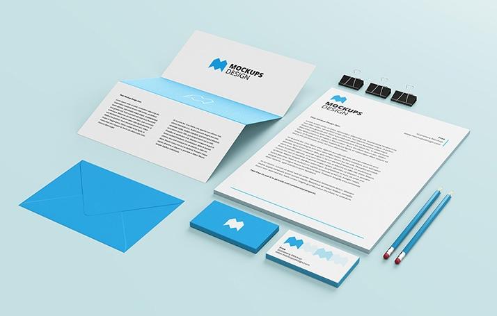 free stationery mockup mockups design free premium mockups