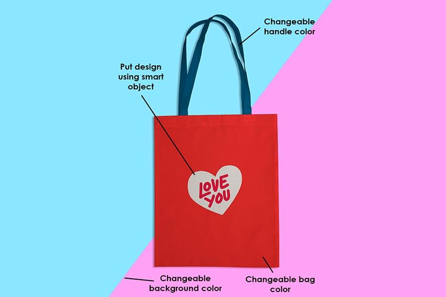 free tote bag mockup psd template ltheme