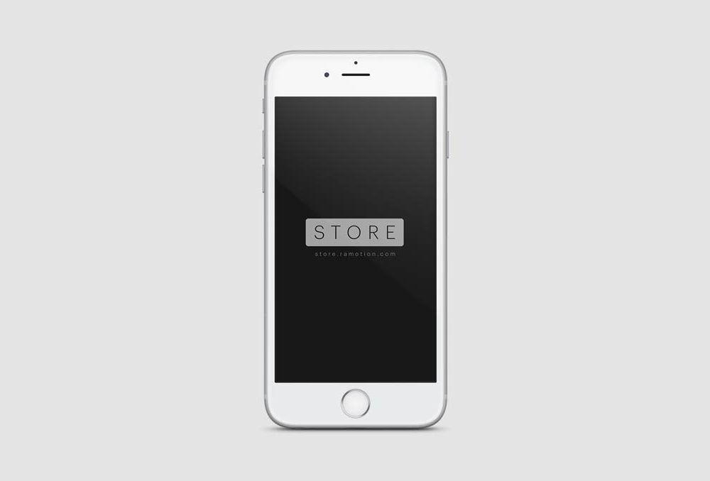 frontal view white iphone mockup mockups mockup iphone white