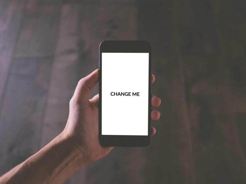 generic phone mockup psd template mockup free downloads
