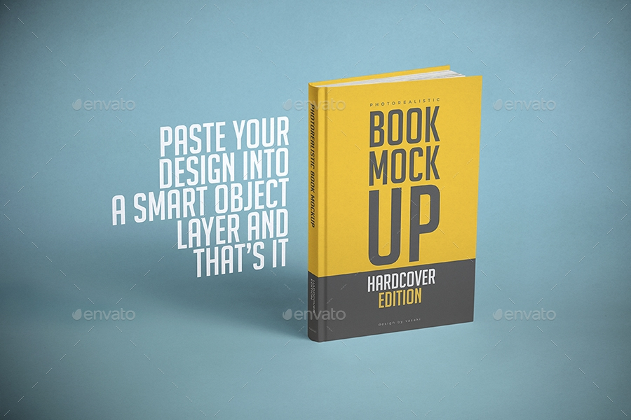 50+ Beautifully Designed Book Mockup - Tinamaze com