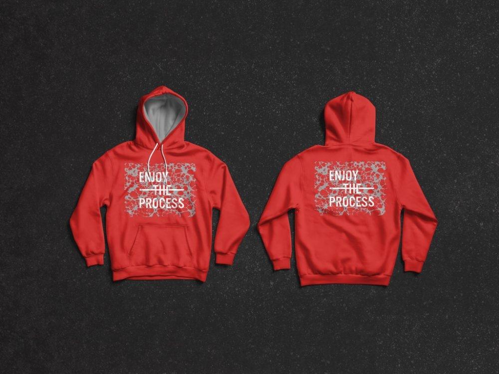 hoodie front and back mockup mockupworld
