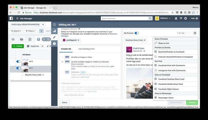 how to create an facebook ad mockup hamok