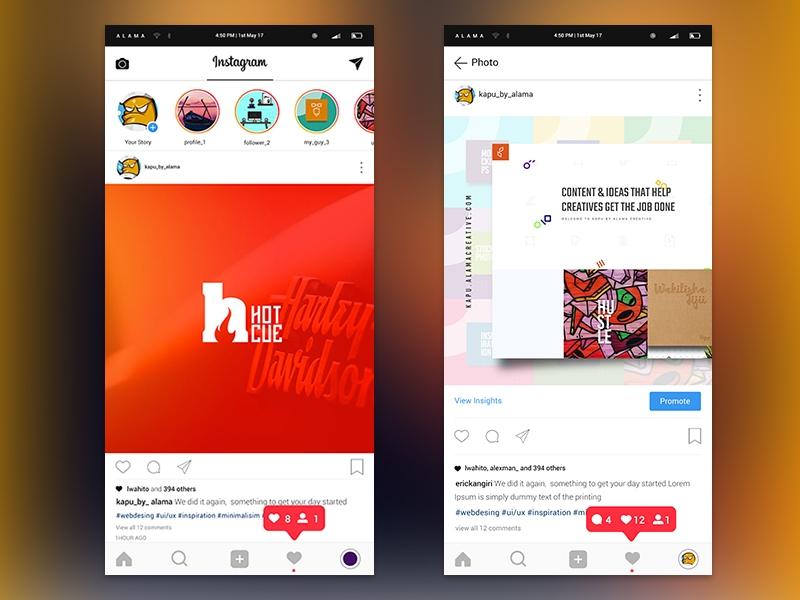 instagram 2017 psd kit 72pxdesigns