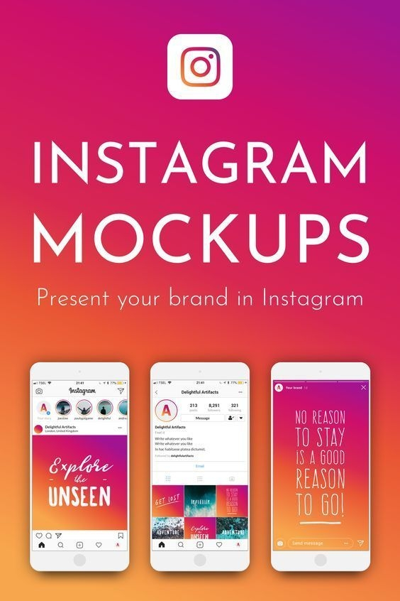 instagram mock ups blogging and social media tips instagram