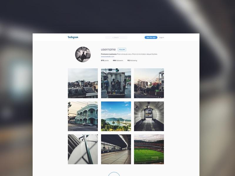 instagram template mockup free psd template psd repo