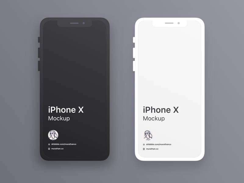 iphone x mockups sketch freebie download free resource for sketch