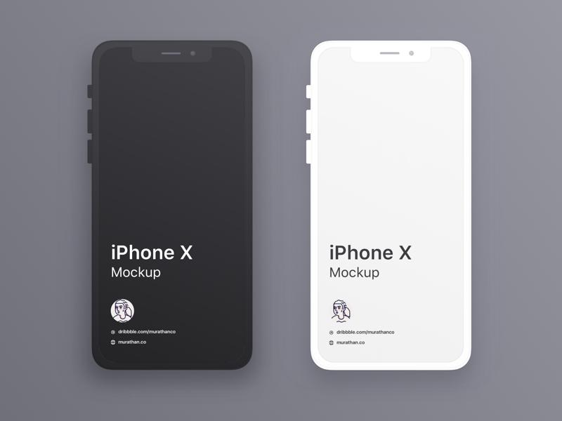 iphone x mockups sketch freebie download free resource for sketch
