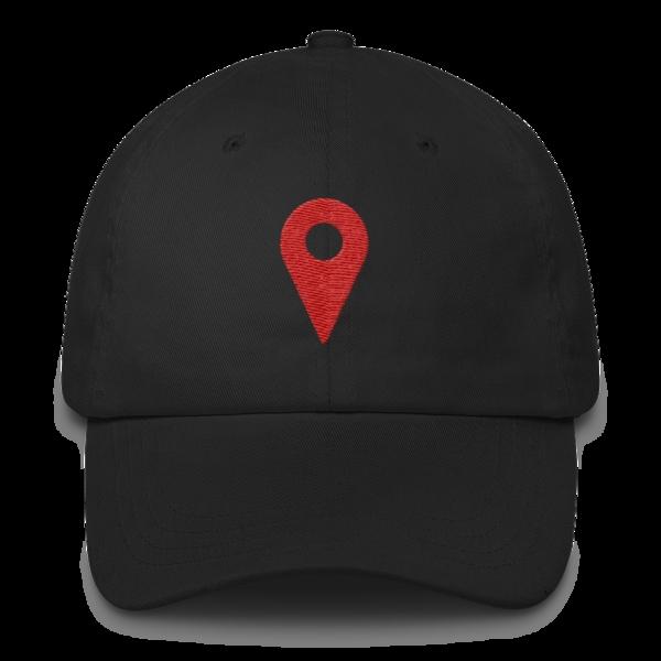 khalid location dad hat black