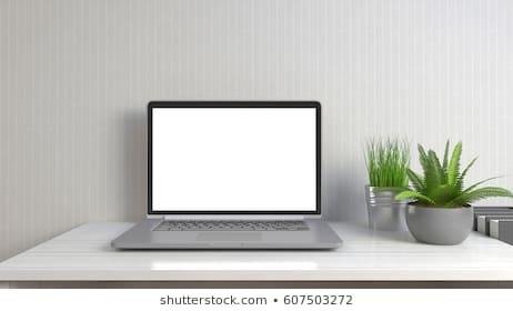 laptop mockup dark images stock photos vectors shutterstock