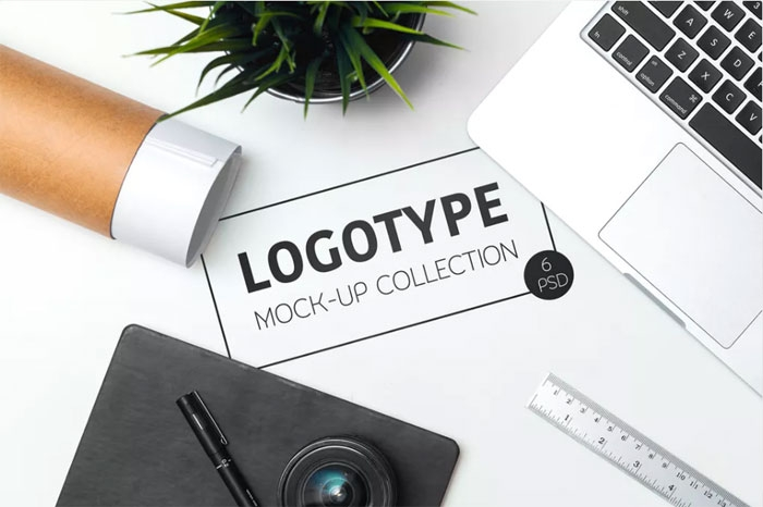 logo mockup templates to download and use to present your logos