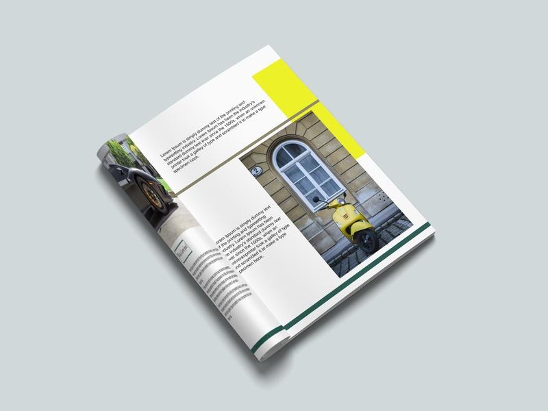 magazine mockup muhammad akbar on dribbble