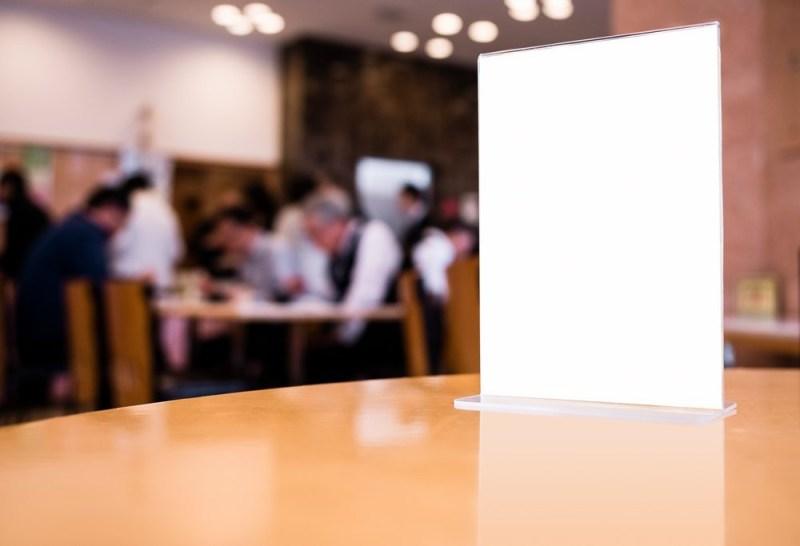 menu mockupworld