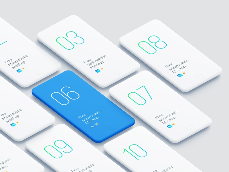 perspective iphone smooth mockups freebie download sketch resource