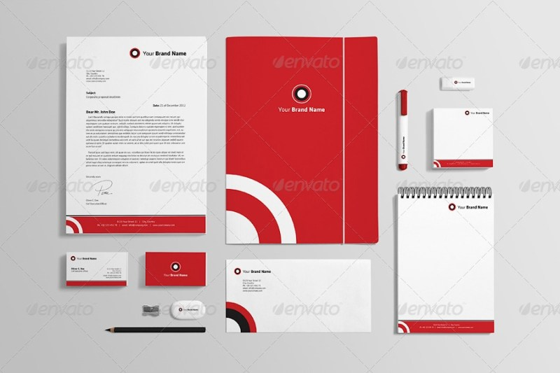 photorealistic stationery mock up genetic96 graphicriver