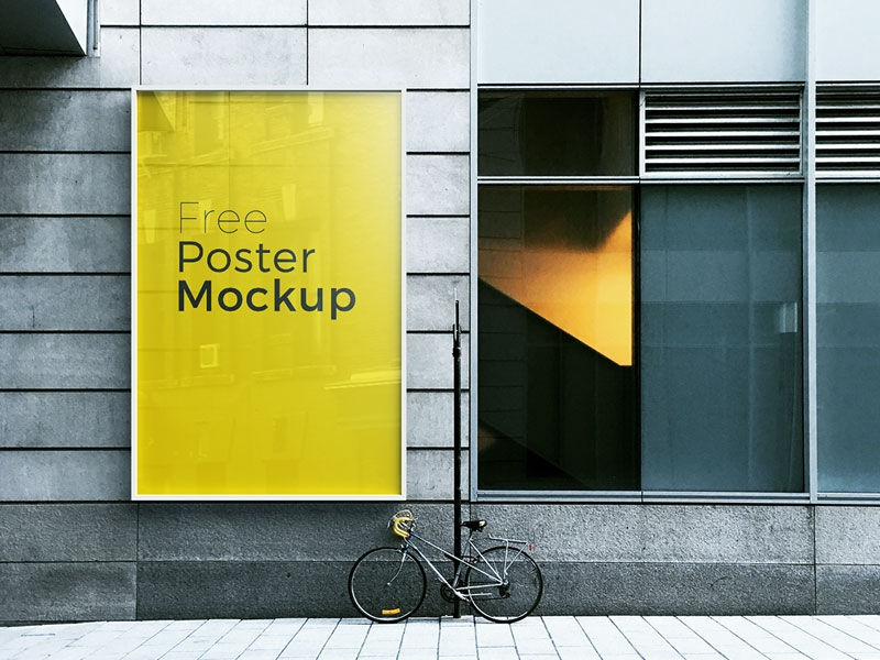 poster and billboard psd mockup mockupsq