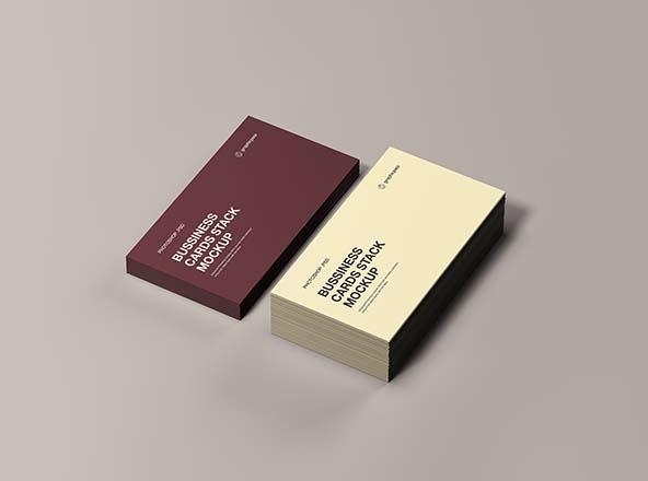 psd business card mockups