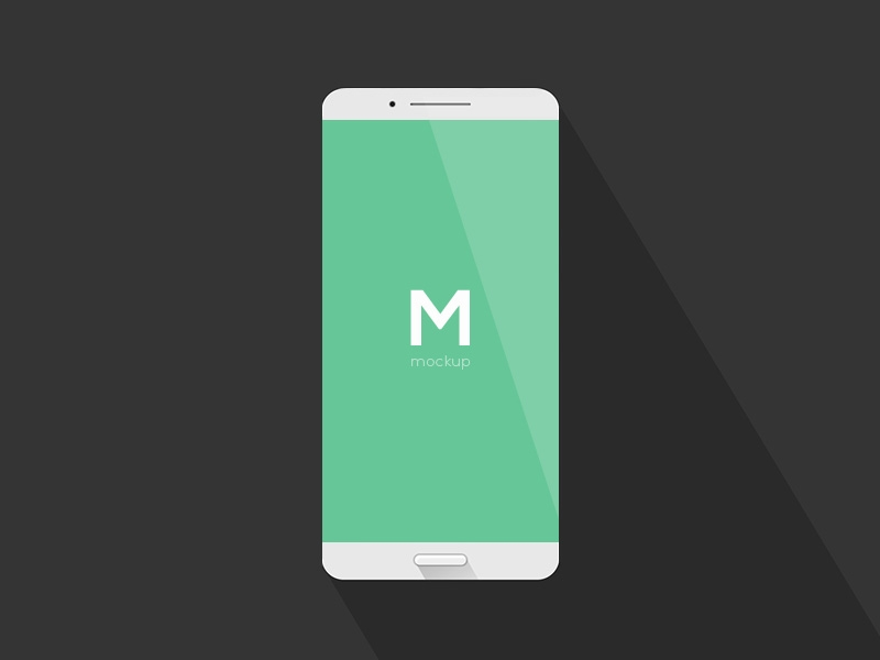 simple phone mockup free psd template psd repo