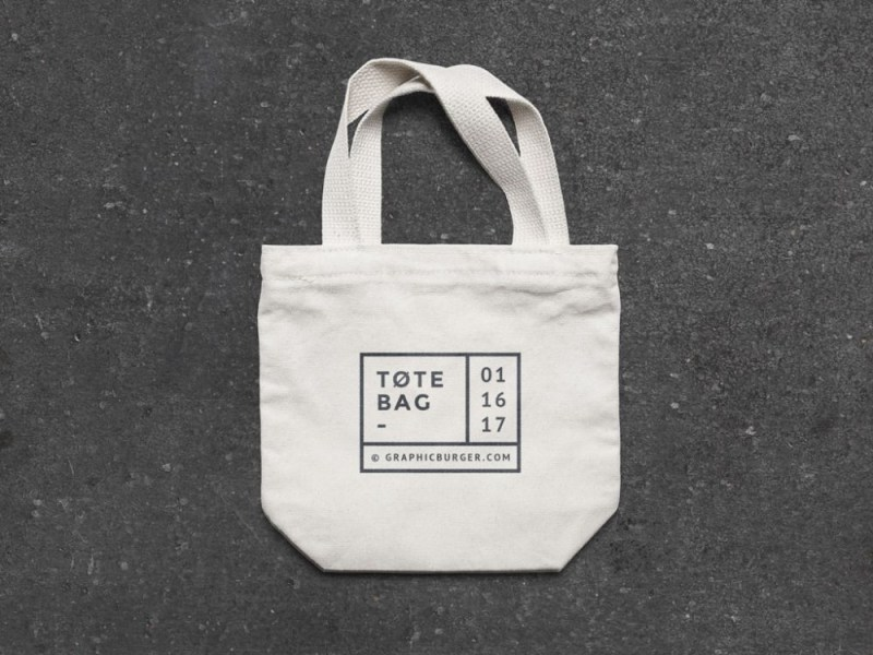 small canvas tote bag mockup mockupworld