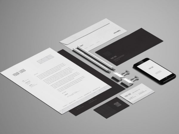 stationery mockups mockup monster