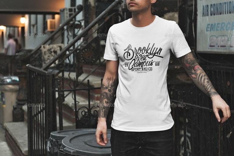 t shirt mockup urban edition genetic96 graphicriver