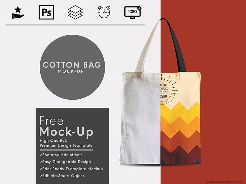 tote bag mock up free psd template designertale on dribbble