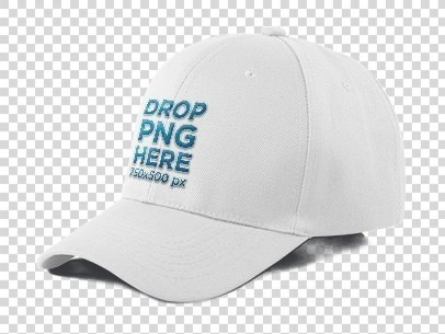 trucker hat mockup over a null background 11705a
