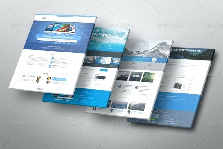 website display bundle misocial free website psd mockup template