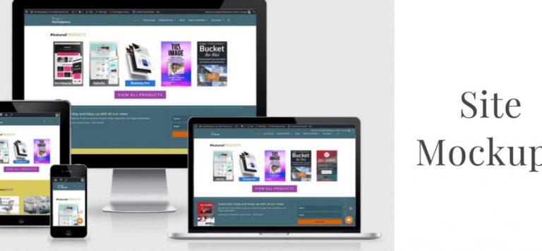 website mockup tools wordpress