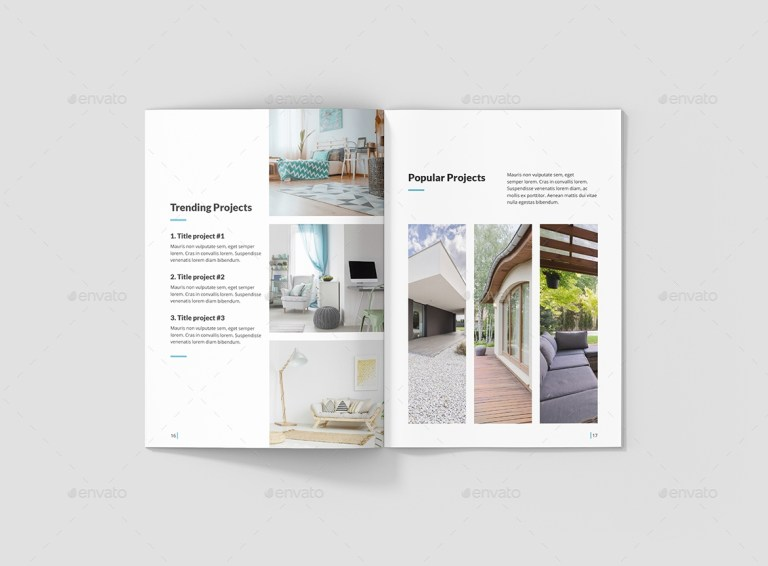 architecture and interior brochure