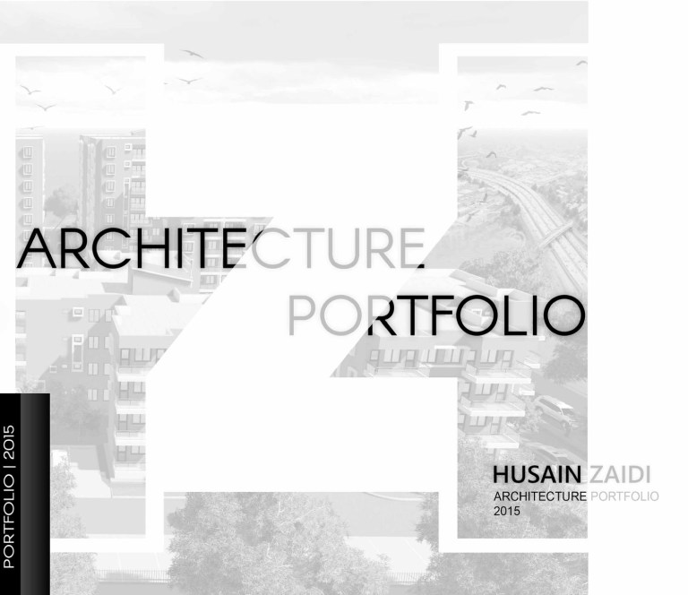 architecture portfolio web template
