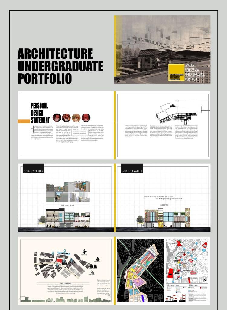 architecture undergraduate portfolio