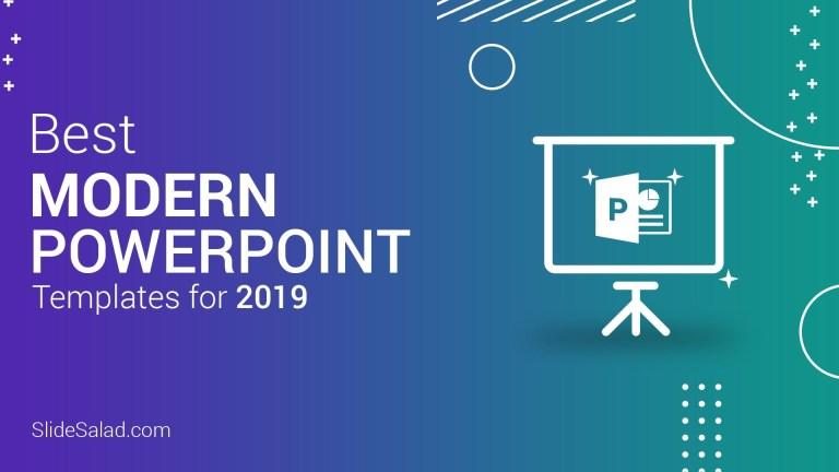 best modern powerpoint templates for 2020 slidesalad