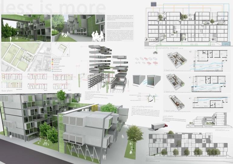 build architecture portfolio
