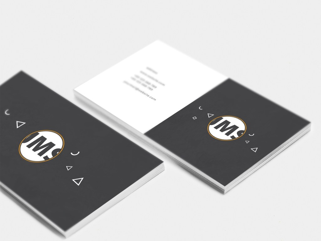 business card design by muhammad rabi