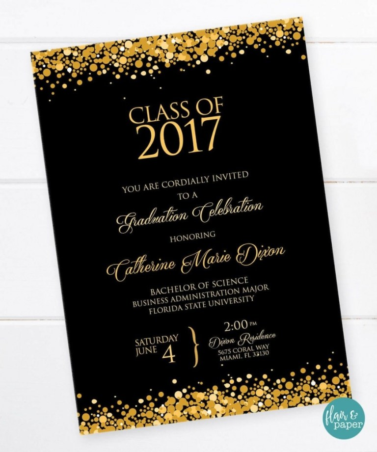 college graduation invitation templates addictionary