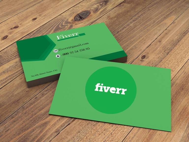 create simple business card by achira