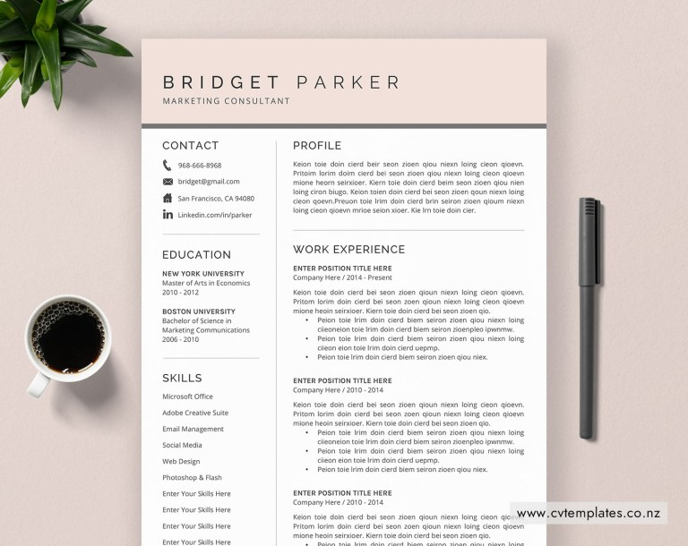 cv template for ms word curriculum vitae modern creative cv template design cover letter minimalist resume template teacher resume instant
