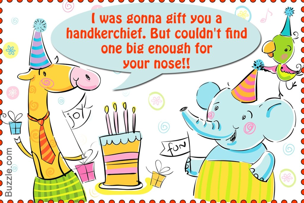 extremely funny birthday wishes