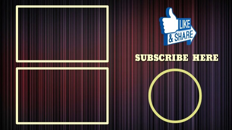 free endscreen template for youtube endscreen outro