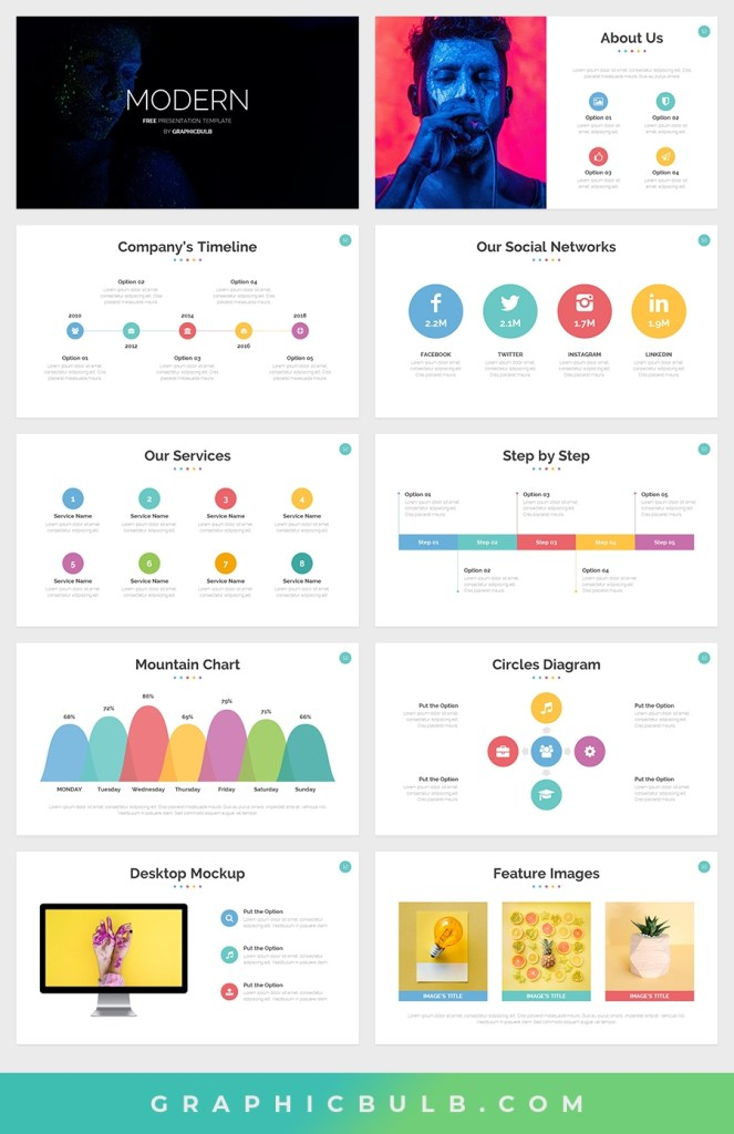 free modern powerpoint template