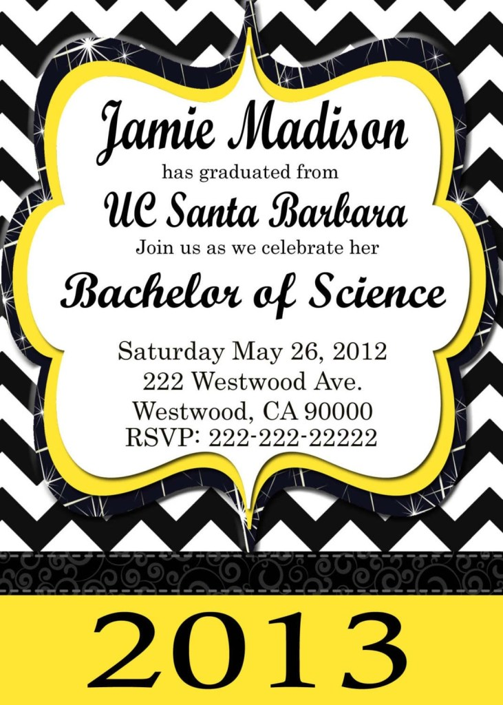 free printable graduation party invitations templates