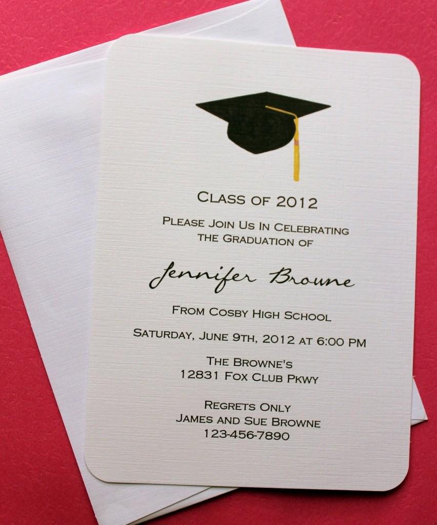 graduation invitation template invitation templates